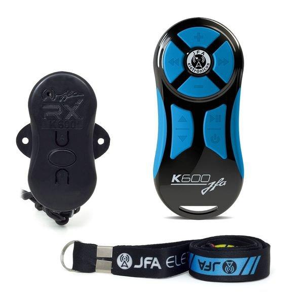 controle longa distancia k600 azul e preto