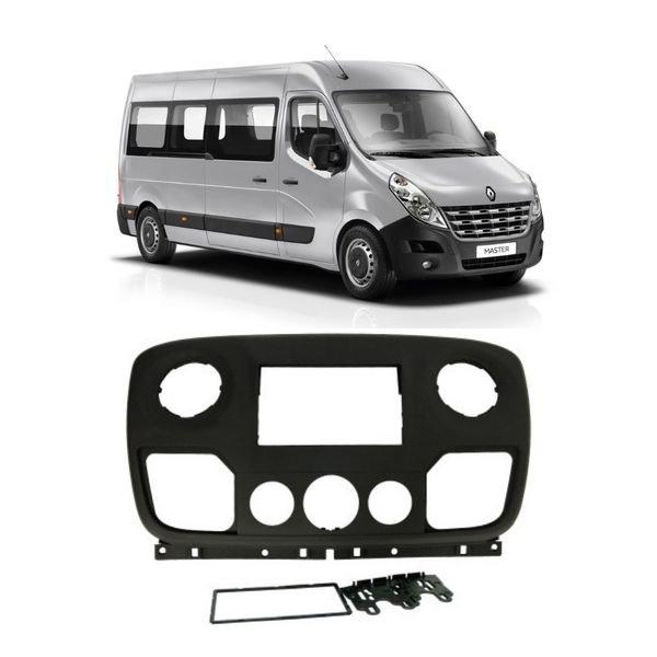 Moldura Renault Master 2 DIN 2012 até 2019 Padrão Jap/Chi 4091 Fiamon