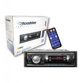 radio bluetooth mp3 fm controle rs2606br roadstar universal