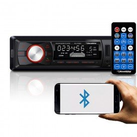 radio automotivo mp3 player bluetooth roadstar rs2709br