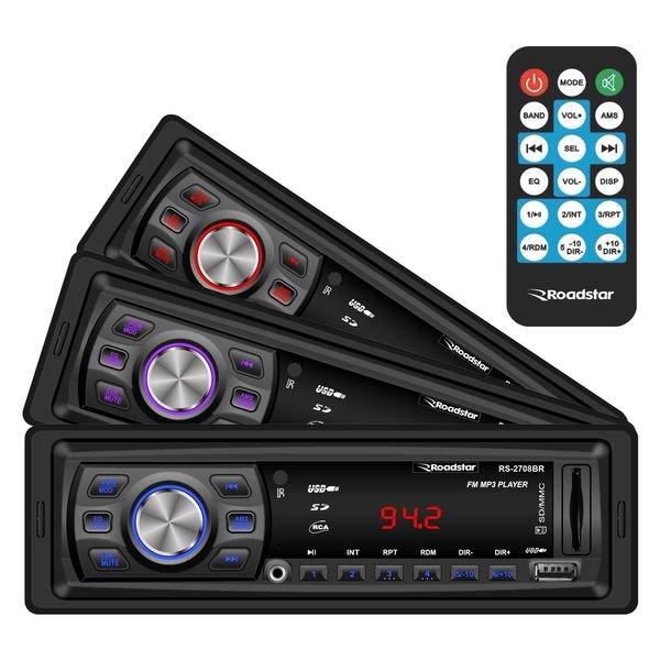 Rádio Automotivo MP3 Player SD / USB Roadstar