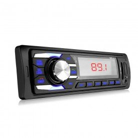 Rádio Automotivo New Soul USB / SD / AUX / FM / MP3 4x12,5W RMS Multilaser
