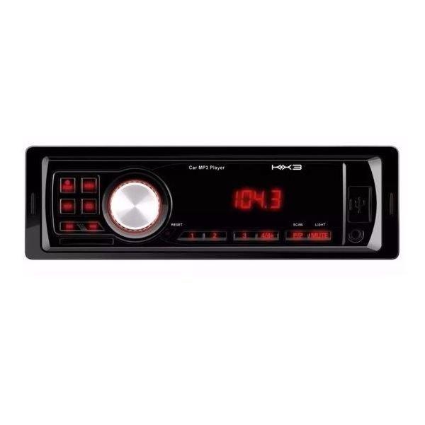 radio usb automotivo kx3 kz 405 cartao de memoria mp3usbfm