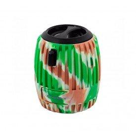 caixa de som mini camuflado roadstar