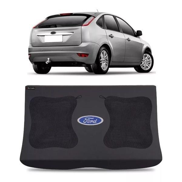 tampo bagagito malas focus hatch 2009 a 2013 4 portas com furo para 2 alto falantes 6x9 polegadas boombastic s2 magazine