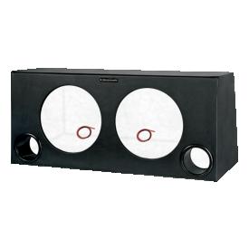 caixa dutada super bass para 02 alto falantes de 12 subwoofer boombastic s2magazine