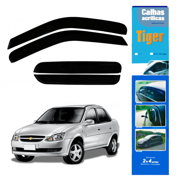 CALHA GM3388 CORSA 4PTS / CLASSIC 96> - TIGER