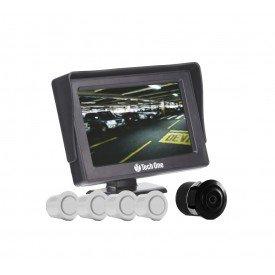 camera re sensor estacionamento techone branco vitrine tuningparts full 1