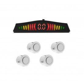 Sensor de Estacionamento Branco TechOne