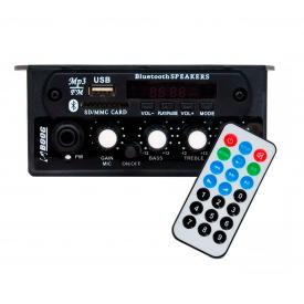 Audio Mixer com Bluetooth / USB Boog