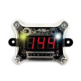 Voltímetro Digital Nano Plus + 12V e Alta Voltagem AJK Sound