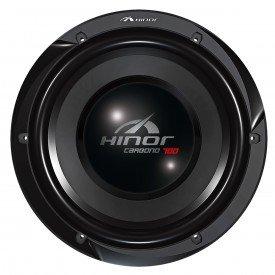 Alto Falante Subwoofer 12 polegadas Hinor Carbono700 bobina simples 350w Rms 4 Ohms