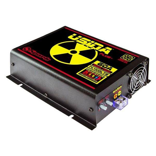 Fonte Automotiva Usina 60A Bivolt Battery Meter Plus 12V