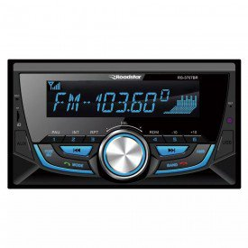 Rádio Automotivo RS3707BR 2 DIN Bluetooth SD USB FM Roadstar