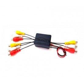 Interface de Chaveamento AV com 2 Entradas 1 Saída RCA TAV01 Tromot