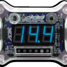 Voltímetro Digital Remote Control AJK Sound