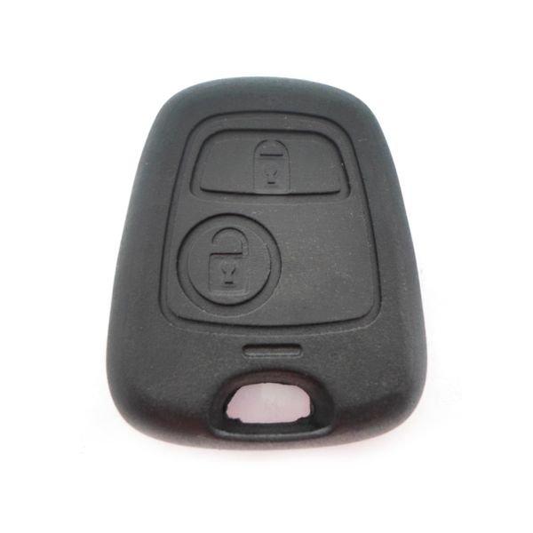 Capa Controle Chave Peugeot / Citroen 2 Botões (Parafuso) B&S Automotiva