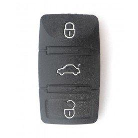 Capa Controle Chave Volkswagen 3 Botões B&S Automotiva