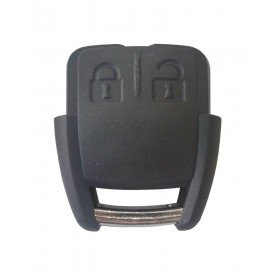 Capa Controle Chave GM 2 Botões mais Contracapa B&S Automotiva