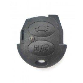 Capa Controle Chave Volkswagen 2 Botões B&S Automotiva
