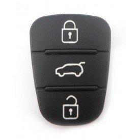 Capa Controle Chave Hyundai 3 Botões B&S Automotiva