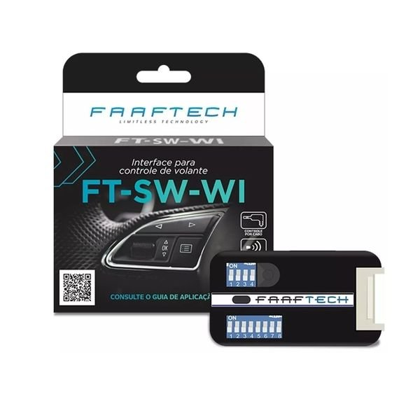 Interface para Controle de Volante Diversos FT-SW-WI Faaftech