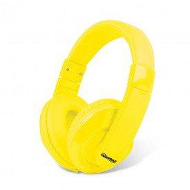 fone de ouvido maxprint p2 amarelo