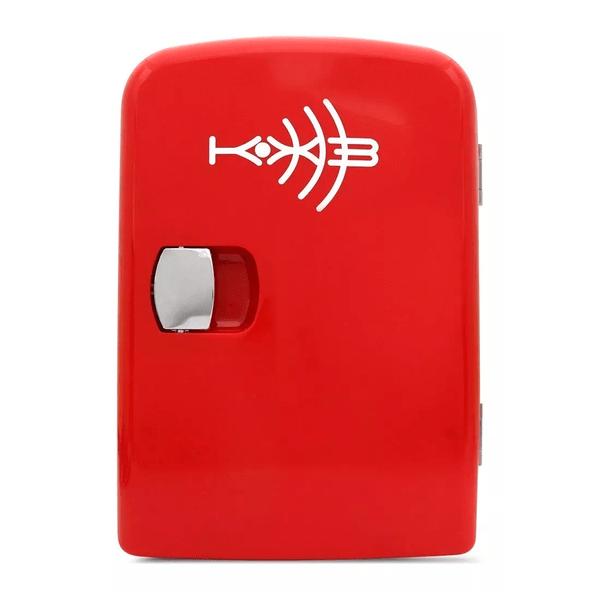 minigeladeira automotiva vermelho kx3