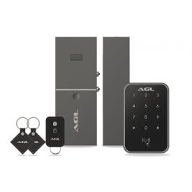 fechadura digital agl smartx