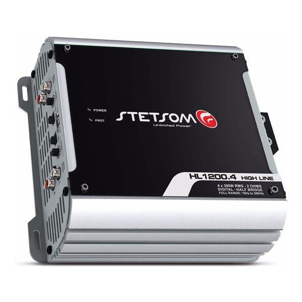 modulo amplificador stetsom hl 12004 1200w 4 canais 2 ohms