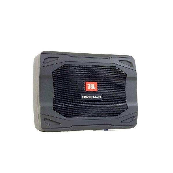 caixa amplificada ativa jbl slim 8 sw68a s 4