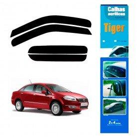 calha de chuva automotiva linea 4 portas todos modelos ft7805 tiger