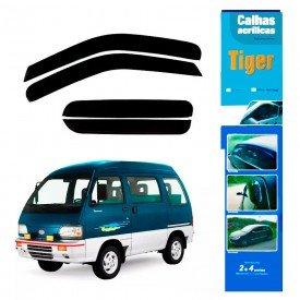 calha de chuva automotiva towner coach van 4 portas 2012 a0691 tiger