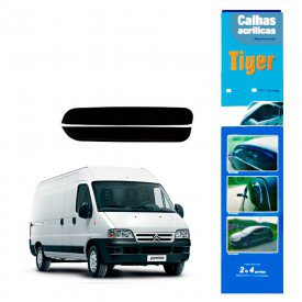 calha de chuva automotiva jumper reta 2 portas ct2190 tiger