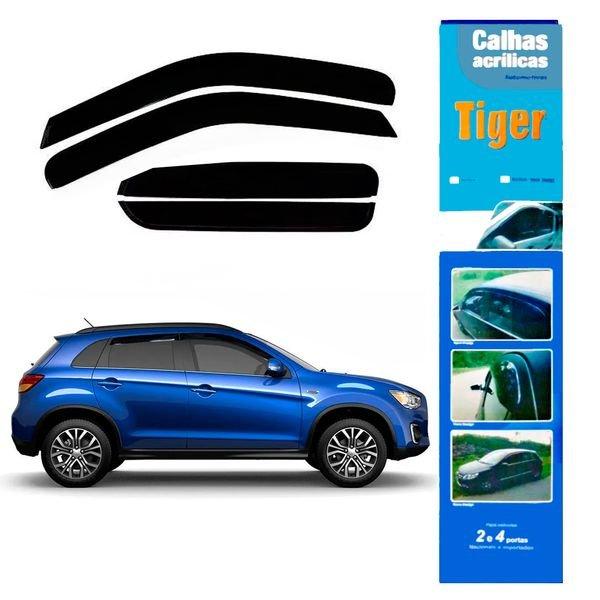 calha de chuva automotiva fluence 4 portas rn7430 tiger