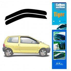 calha de chuva automotiva twingo 2 portas rn8529 tiger