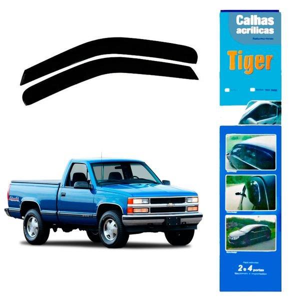 calha de chuva automotiva silverado 2 portas gm4231 tiger