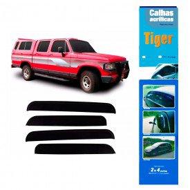 calha de chuva automotiva d20 d10 c10 4 portas gm4464 tiger