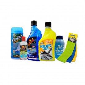 kit limpeza automotiva premium