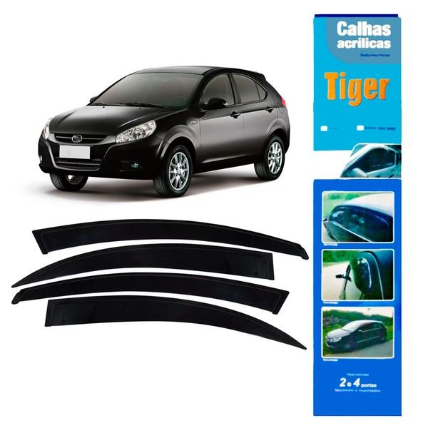 calha de chuva automotiva j3 jc9465 tiger