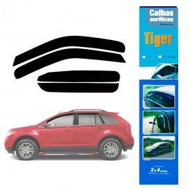 calha de chuva automotiva ford edge 2013 4 portas fd9526 tiger