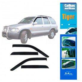 calha de chuva automotiva sportage ate 2004 4 portas k0653 tiger