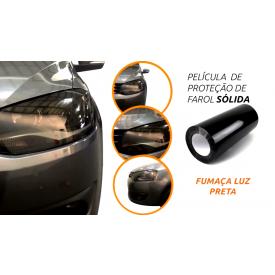pelicula de farol automotivo fumaca luz preta