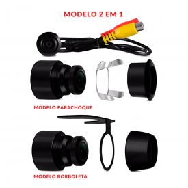 camera automotiva de re 2x1 flex techone 2 em 1 D_NQ_NP_788905 MLB26905612026_022018 F 1