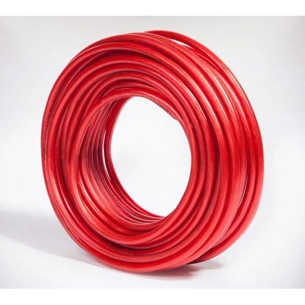 cabo de forca automotivo 9 00mm2 vermelho 50 metros technoise
