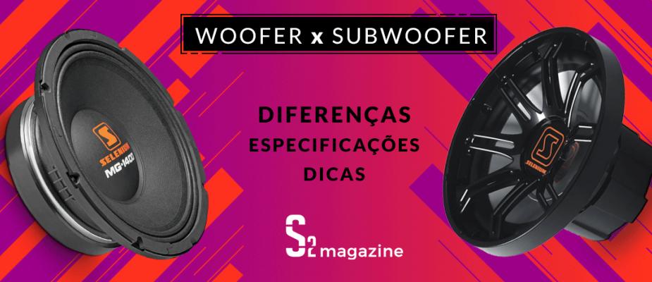 Qual modelo ideal de Alto Falante para o seu projeto: Woofer ou Subwoofer?