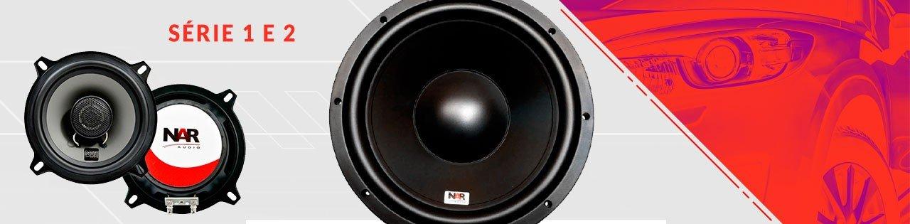 alto falante serie 1 2 nar audio n a r audio som automotivo alta qualidade