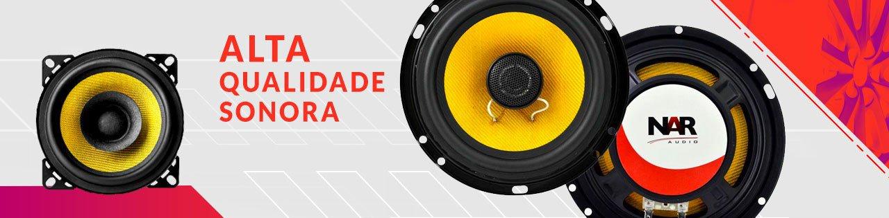 qualidade sonora nar audio som automotivo