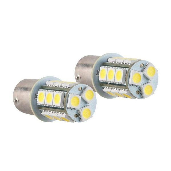 lampada led automotiva 18 leds branco 12v 1 polos par kx3