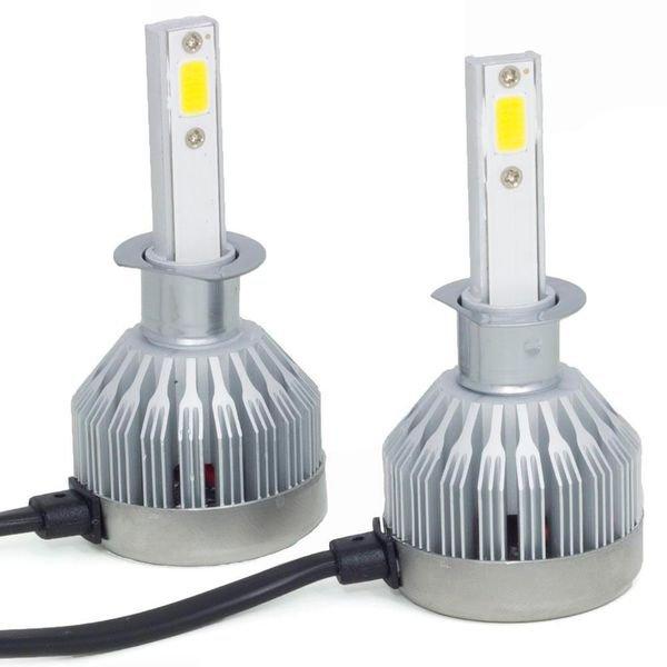 kit lampada super led h1 12v 24v 6200k multilaser AU832 2